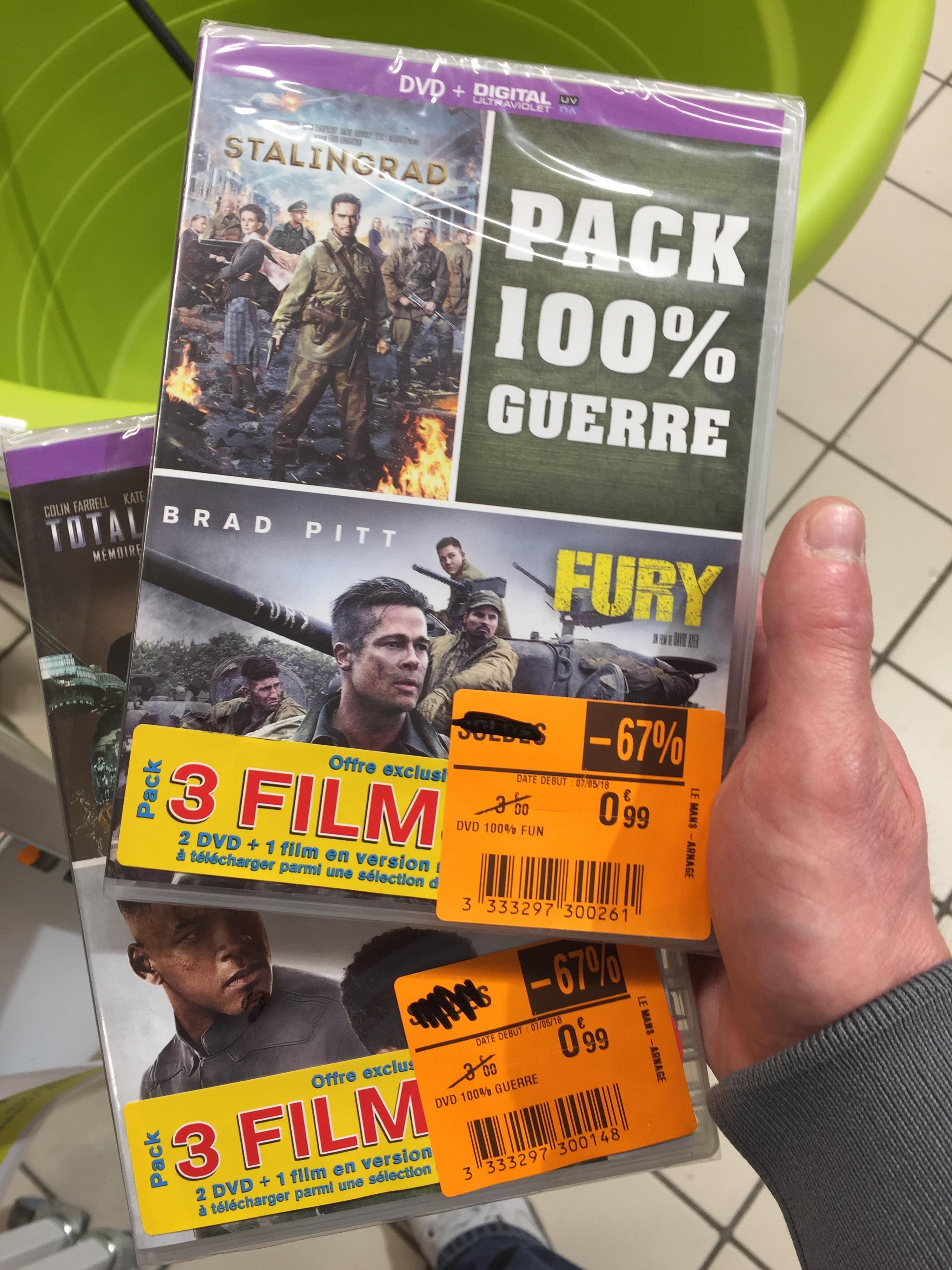 Sélection de pack avec 2 DVD - La Pointe (72)