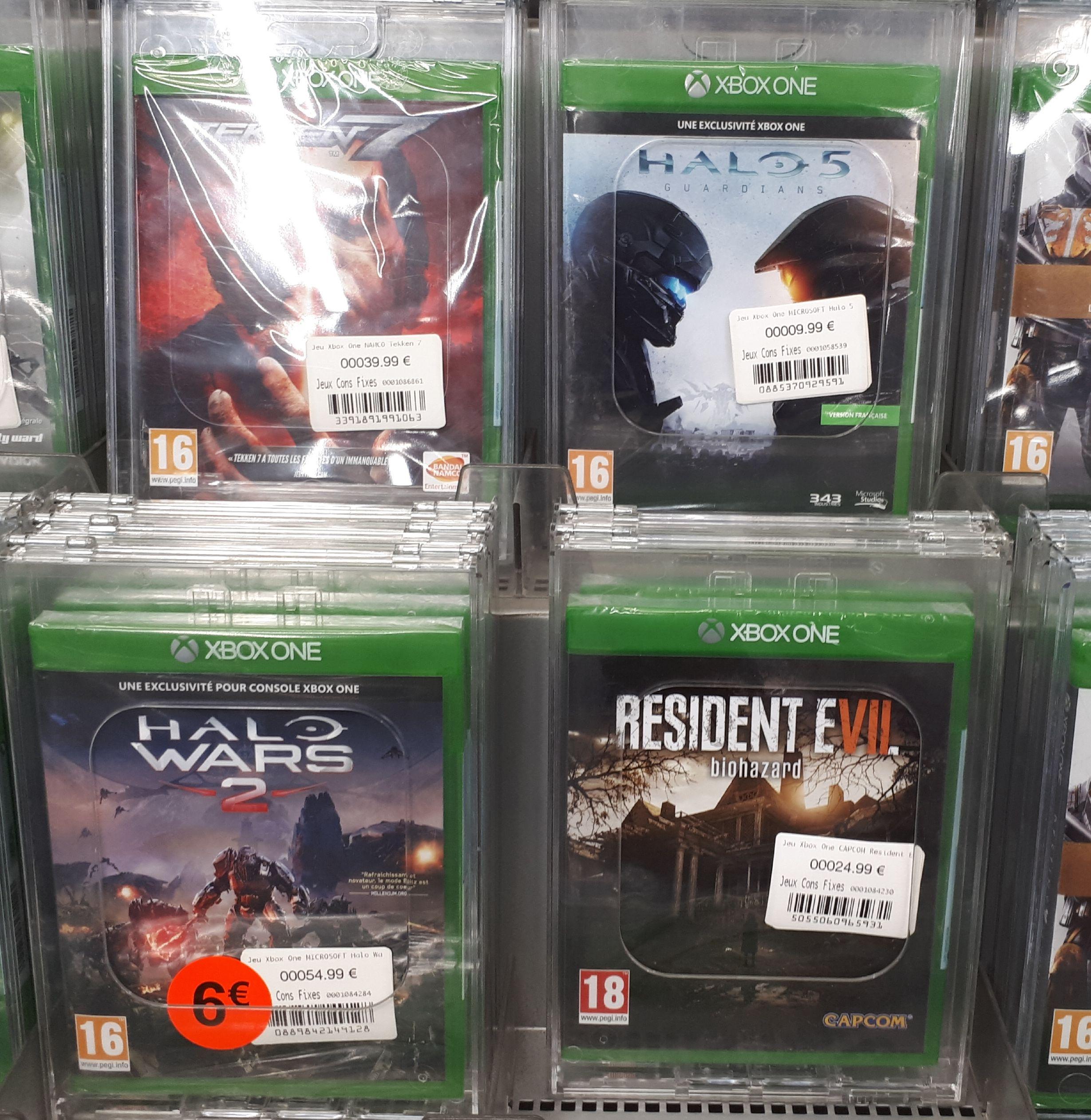Sélection de jeux Xbox One en promotion - Ex : Jeu Halo wars 2 sur Xbox One - Boulanger Vandoeuvre les Nancy (54)