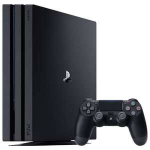 Console Sony PS4 Pro 1 To - Noir (Frontaliers Belgique)