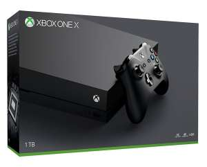 Console Microsoft Xbox One X 1 To - Noir (Frontaliers Belgique)