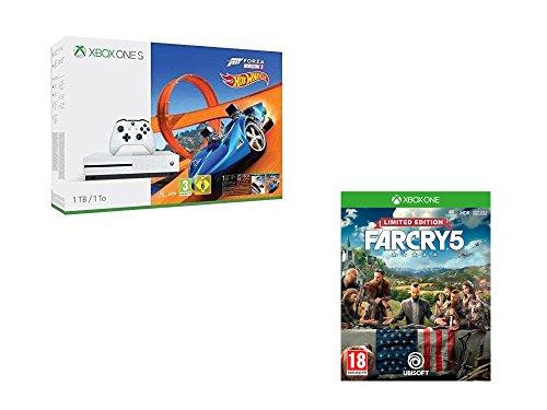 Console Microsoft Xbox One S 1To + Forza Horizon 3 & Hot Wheels + Far Cry 5