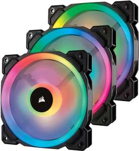 Pack de 3 ventilateurs de boitier LED Corsair LL120 RGB