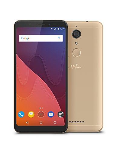 "Smartphone 5.7"" Wiko View - 3 Go RAM, 32 Go, Dual SIM, Or"