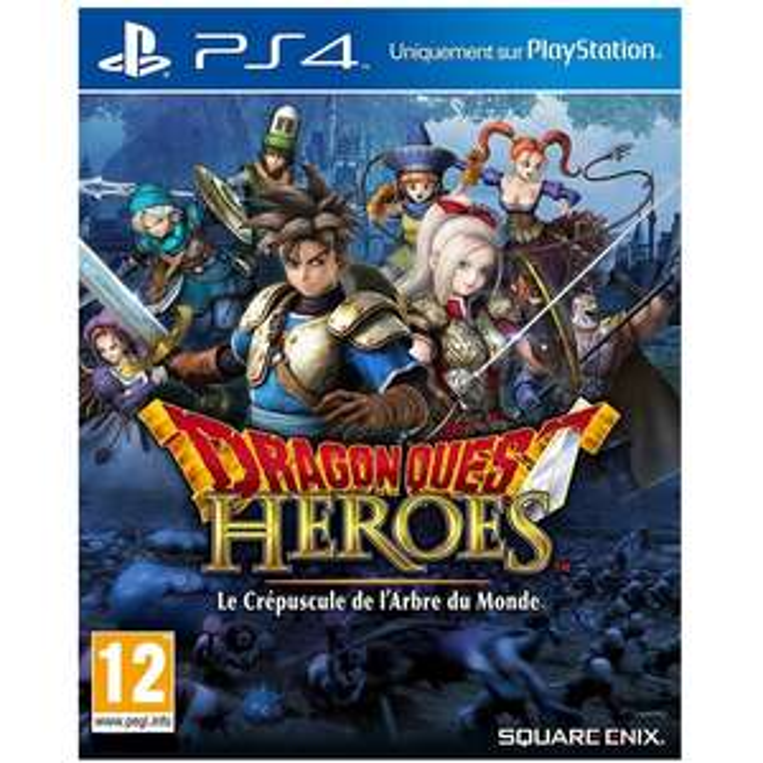 Dragon Quest Heroes sur PS4