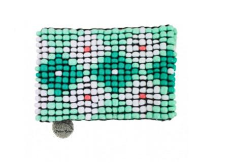 Bracelet manchette JESSA GOODLET vert offert pour toute commande