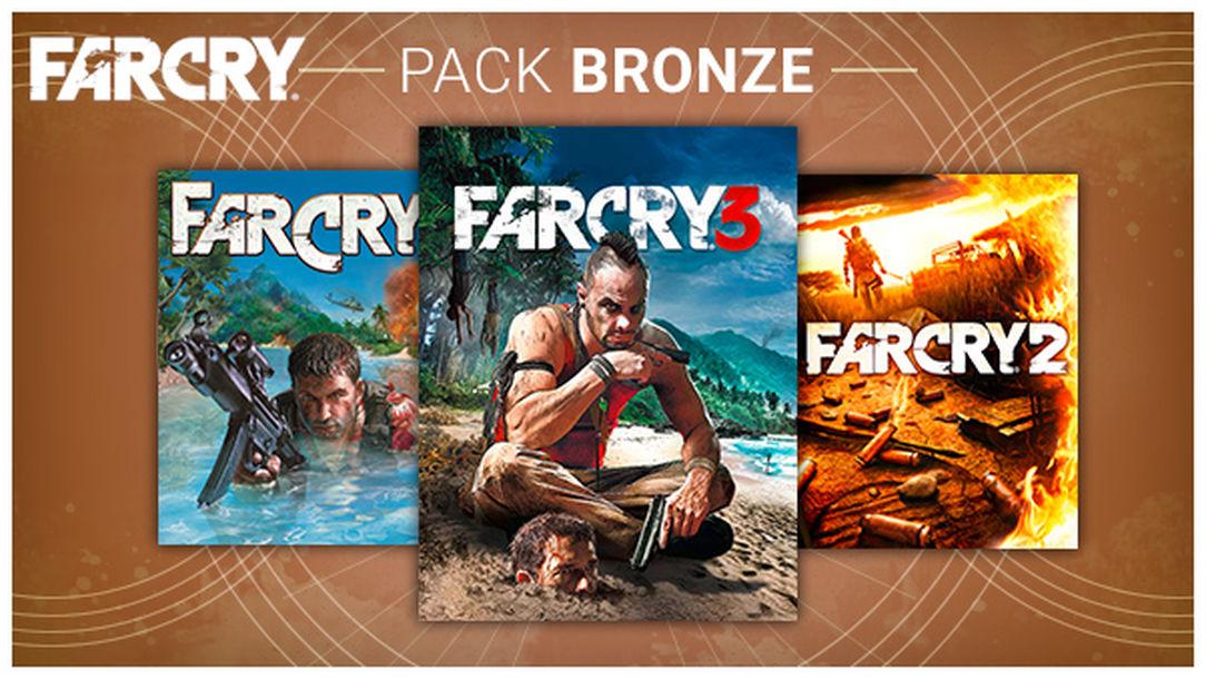 Sélection de packs Far Cry sur PC en promotion - Ex : Bronze Pack (Far Cry 1, 2 & 3) - Dématérialisé