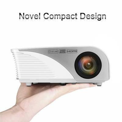 Vidéoprojecteur Portable - 800 x 480, 1200 Lumens, HDMI (vendeur tiers)
