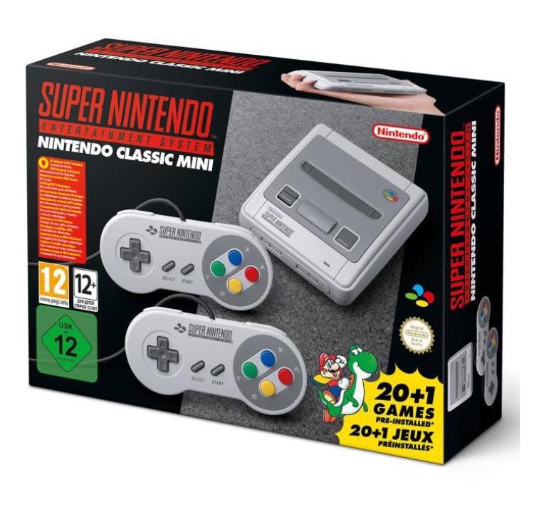Console Nintendo Classic Mini : Super Nintendo