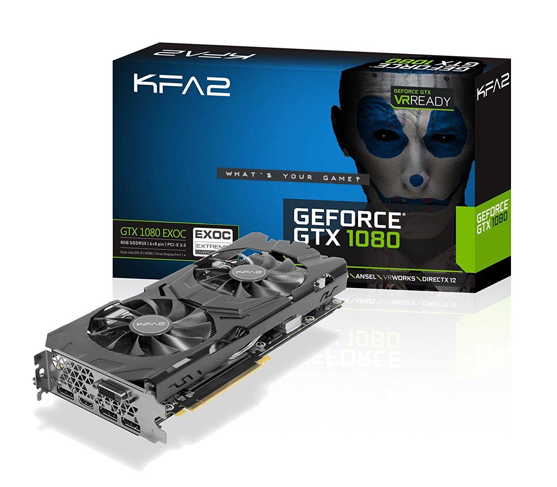 Carte graphique KFA2 GeForce GTX 1080 EXOC