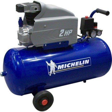 Compresseur de Loisirs Monocylindre Michelin - 50L, 2CV