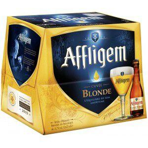 Bière blonde d'Abbaye Affligem - 12x25cl (via 3,24€ sur la carte fidélité)
