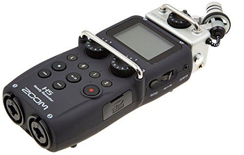 Enregistreur audio portable Zoom H5 - 4pistes, Entrées XLR