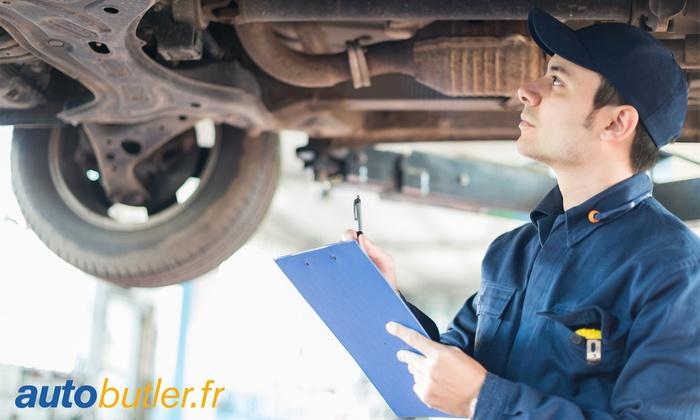Sélection de Bons d'achats valables dans plus de 500 garages partenaires Autobutler.fr - 100€ à dépenser pour 50 € ou 150€ pour 75€