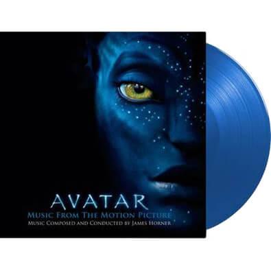 Vinyle Bande Originale Avatar - Edition numérotée Disques Bleu