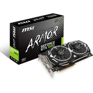 Carte graphique MSI GeForce GTX 1060 Armor OC V1 - 6 Go