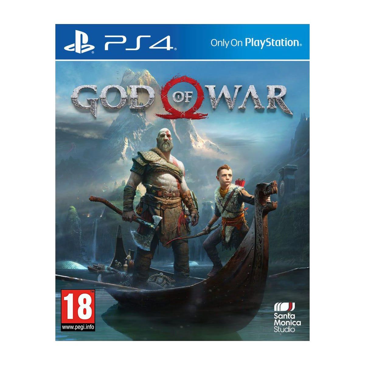[Précommande] Jeu God Of War sur PS4