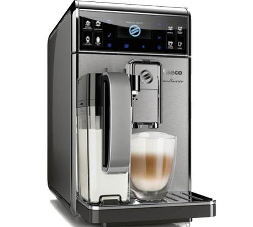 Machine à espresso automatique Saeco Gran Baristo HD8975/01 MaxiPack - Argent (+ 30€ de chèques Cadeaux)