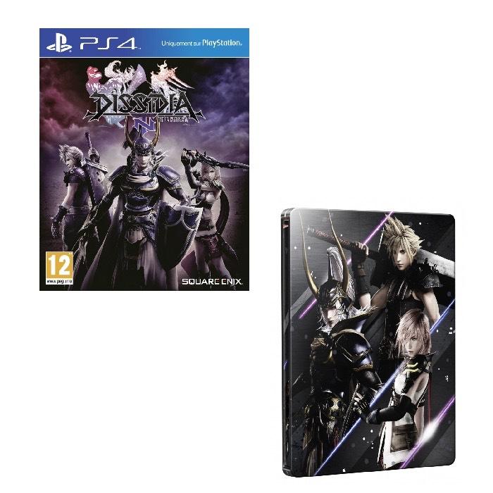 Coffret Dissidia Final Fantasy: Steelbook Edition sur PS4
