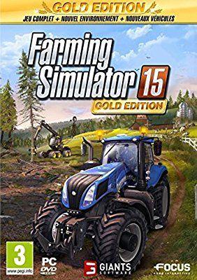 Farming simulator 15 Édition Gold sur PC (Via l'appli Micromania)