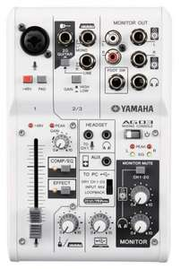 Interface Audio - Mixeur combiné Yamaha AG03