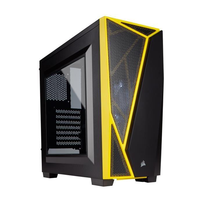 Sélection de boîtiers PC en promotion - Ex : Boîtier PC Corsair Carbide SPEC-04 Moyen Tour - avec Fenêtre teintée