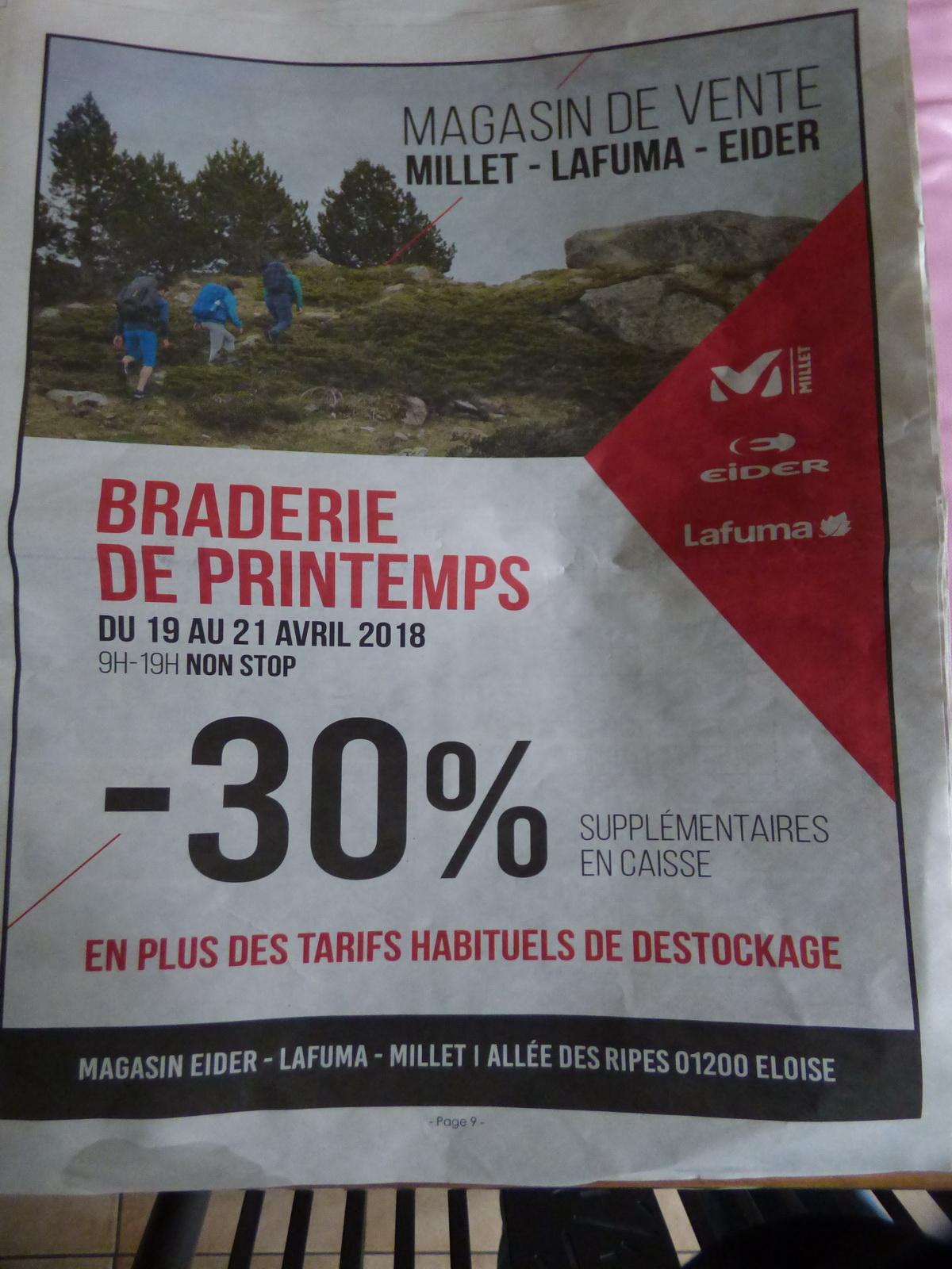 30% de réduction supplémentaires sur tout le magasin (Promotions comprises) - Eider Eloise (01)