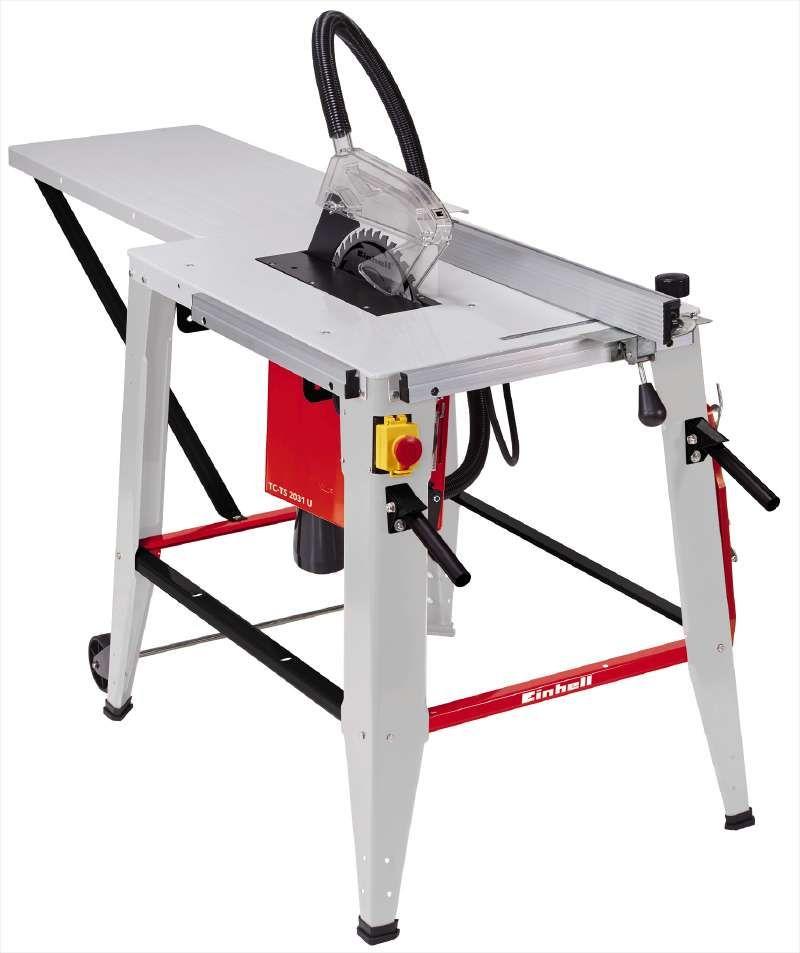 Table de sciage Einhell TC-TS 2031 U 2000 watts