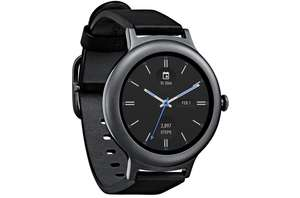 Montre connectée LG Watch Style LG-W270 - Android Wear 2.0, Noir