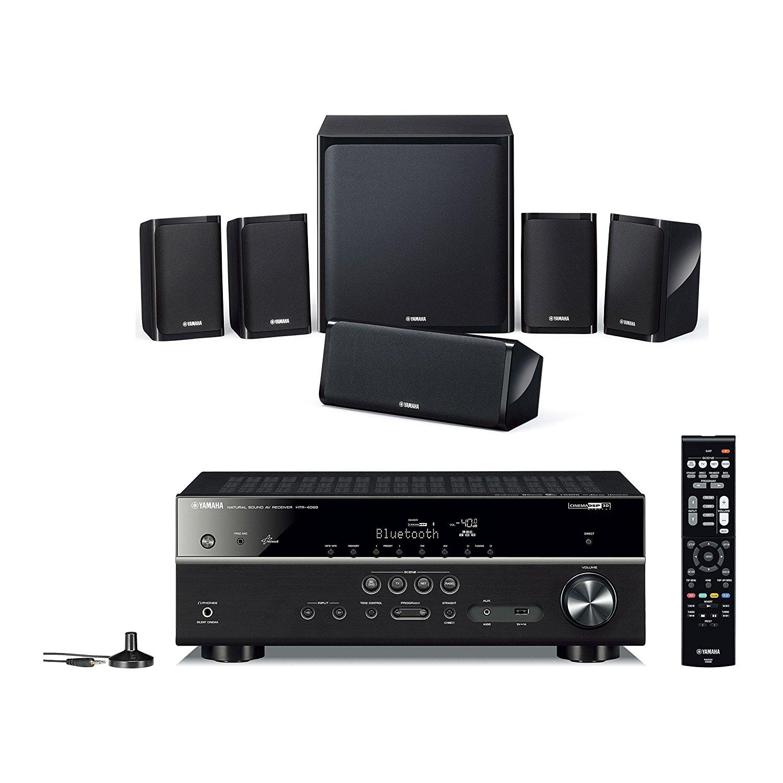 Kit Home Cinéma 5.1 Yamaha YHT-4940 - Noir