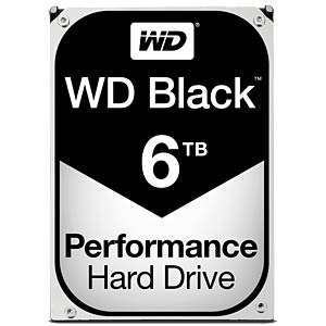 "Disque Dur Interne 3.5"" Western Digital BLACK - 6 To, 7200 trs, 256 Mo de Cache"