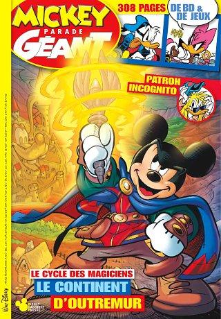 Abonnement au Magazine Mickey Parade Géant 1 An - 6 Numéros + 6 numéros de Super Picsou Géant