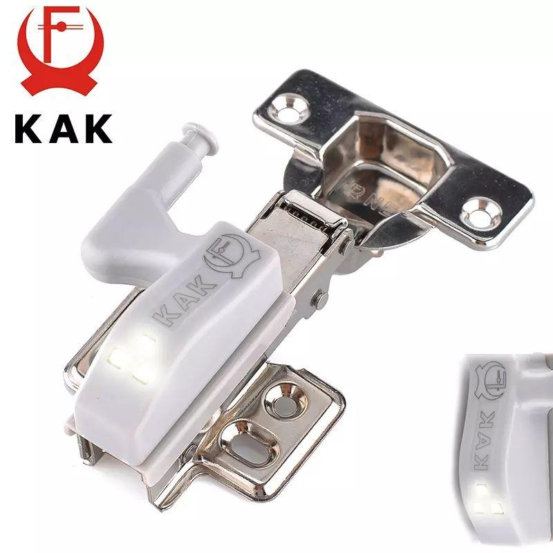 Capteur LED pour charnière de meuble (via application)