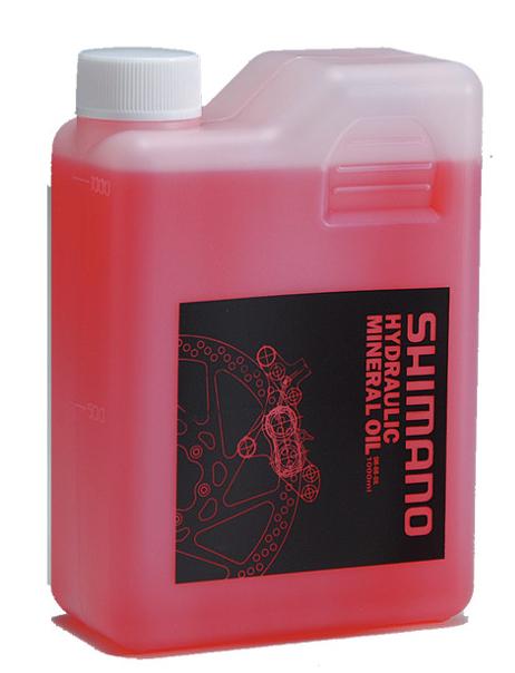 Bidon d'huile minérale Shimano - 1L