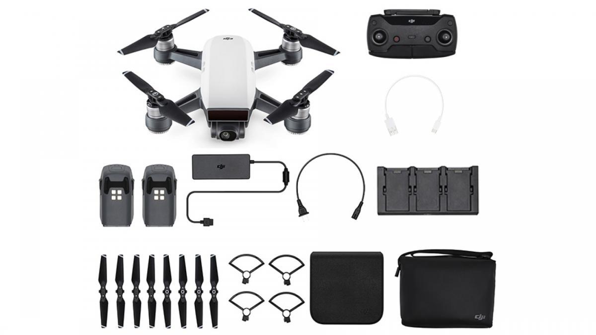 Drone quadricoptère RTF DJI Spark Fly More Combo