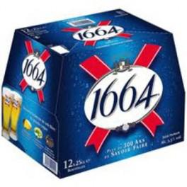 3 packs de 12 bières 1664 à 8.70€ au lieu de 19.35€