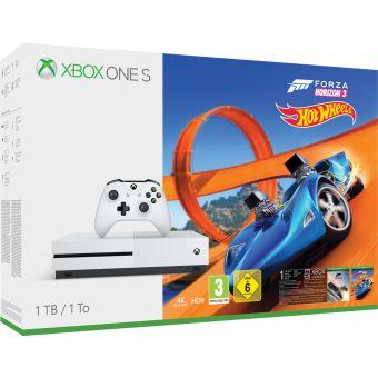 PUBG et Sea of Thieves (Dématérialisé) offerts pour l'achat d'une Xbox One S ou X - Ex : Pack Console Xbox One S (1 To) Forza Horizon 3 + Hot Wheels + 2 Jeux + Destiny 2 + Artbook