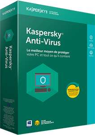 Licence Antivirus Kaspersky Lab 2018 - 1 an