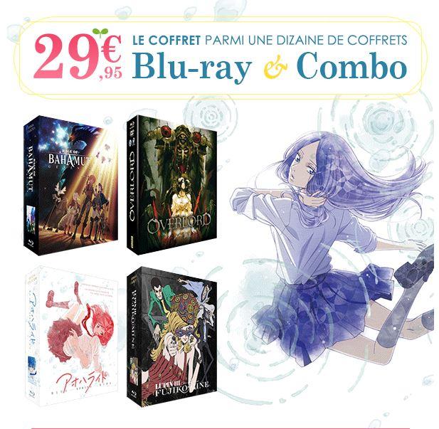 Sélection de coffrets et combos Blu-ray Collectors à 29.95€