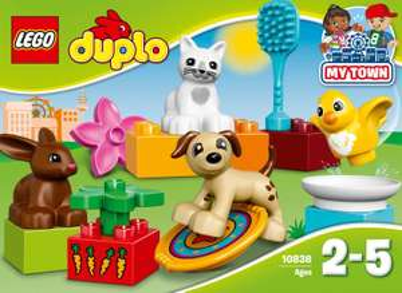 Jouet Lego Duplo : Les animaux de compagnie n°10838
