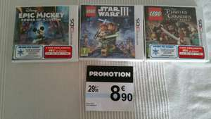 Sélection de jeux Nintendo 3DS (Lego Star Wars, Epic Mickey Power of Illusion...)