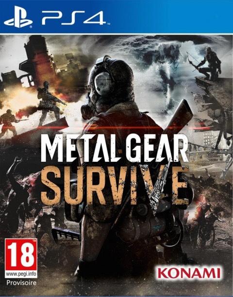 Jeu Metal Gear Survive sur PS4