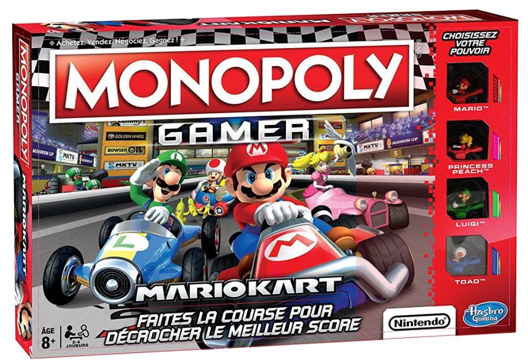 Précommande : Jeu de société Monopoly Gamer Mario Kart