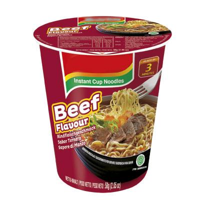 Nouilles Asiatiques instantanées - saveur bœuf