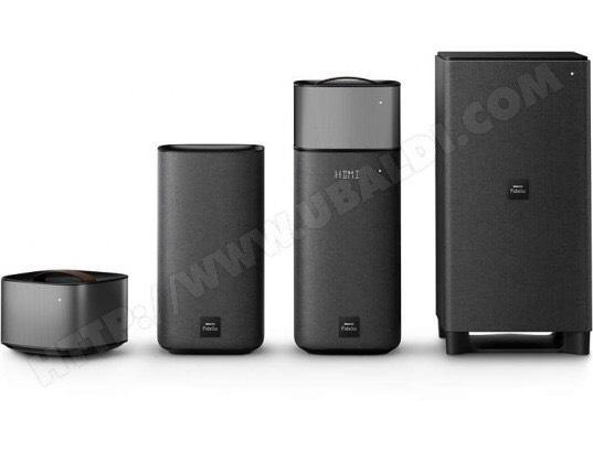 Pack d'enceintes Home Cinéma 5.1 Philips Fidelio E6 - Bluetooth, HDMI 4K-2K, Spotify Connect, 270W, Noir