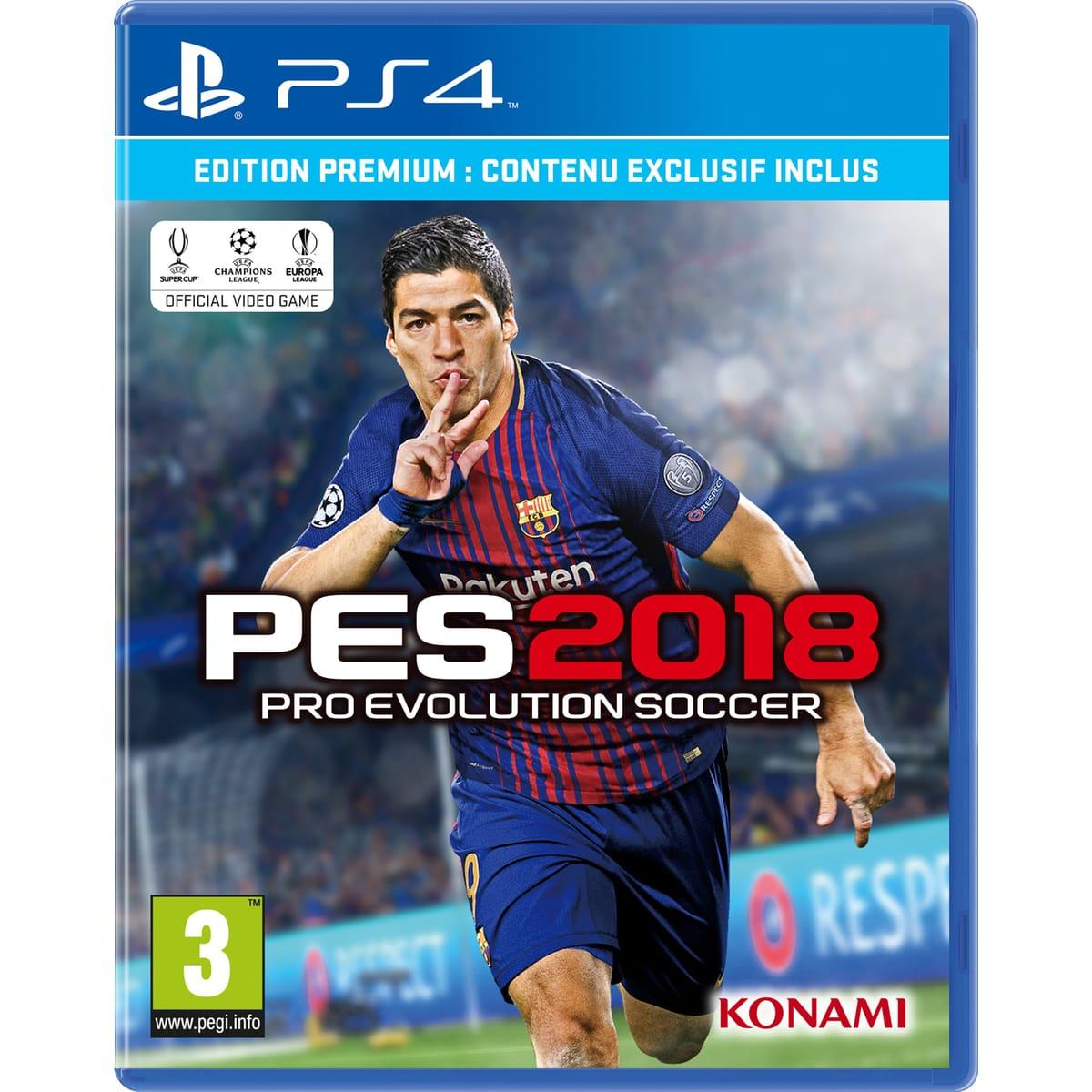 Pro Evolution Soccer 2018 - Edition Premium sur PS4