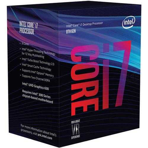 Processeur Intel Core i7-8700 Coffee Lake 3.20GHz - LGA 1151