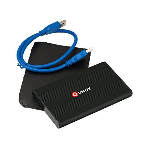 """[Panier Plus] Boîtier Externe USB 3.0 Qumox Z212U pour Disques Durs 2,5"""" SATA (Vendeur Tiers, expédié par Amazon)"""