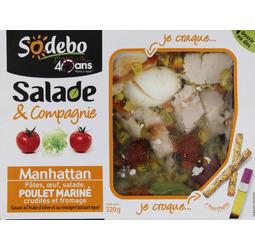 Salade et compagnie Sodebo Manhattan ou Montmartre