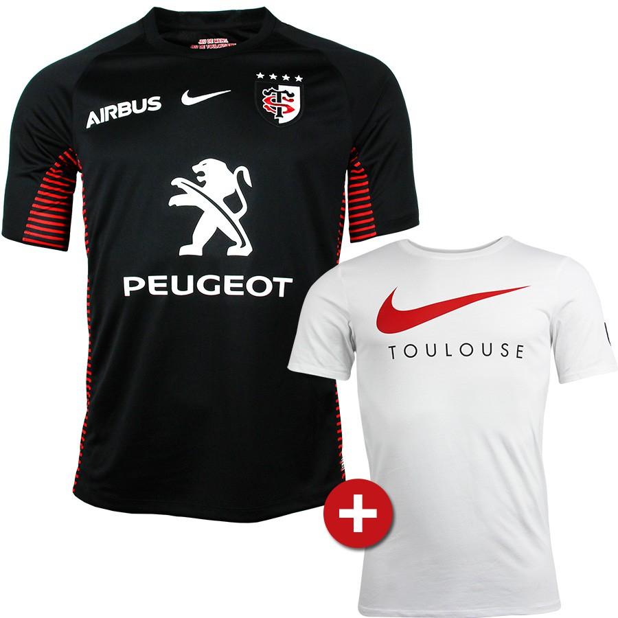 Pack de maillot de rugby de l'équipe de Toulouse