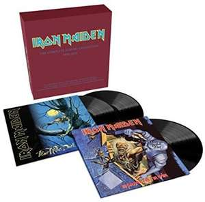 Coffret vinyle Collector Iron Maiden - No Prayer for the Dying